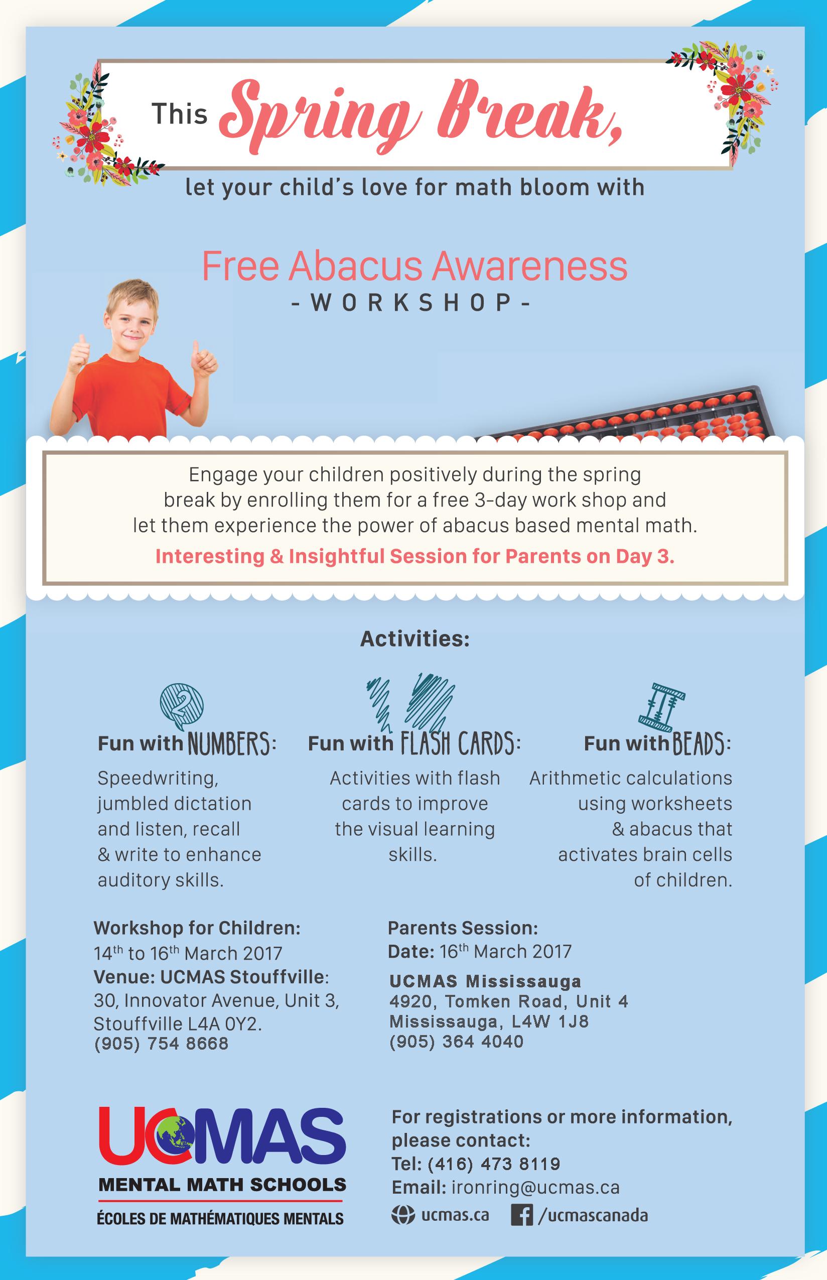 Free Abacus Awareness Workshop